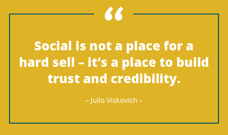 social selling quote