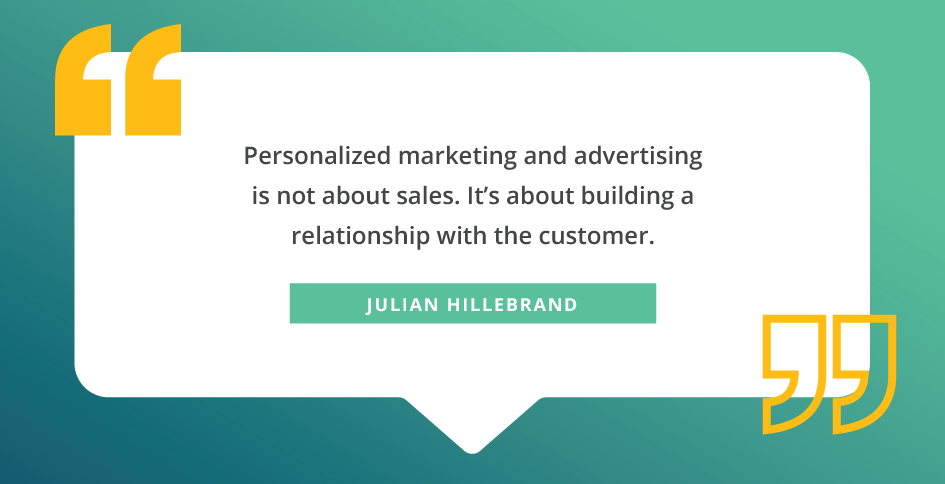 marketing personalization quotes