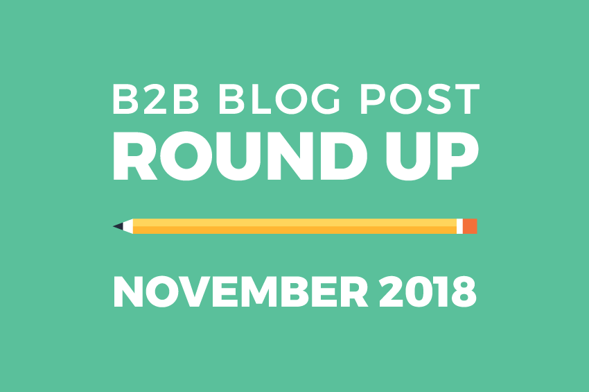 b2b blog post round-up